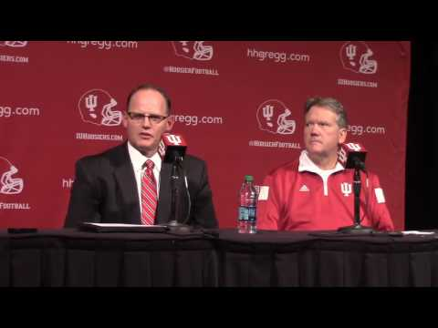 Indiana Football coaching transition press conferece