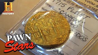 Pawn Stars: TREASURE UNCOVERED! 1715 Spanish Gold Worth a Fortune (Season 2) | History