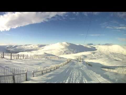 Glenshee Ski Centre, Scotland 8.1.11 - A truly fantastic days skiing!