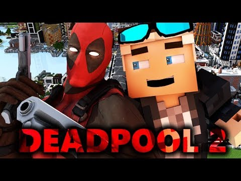 DEADPOOL IN MINECRAFT 2! Realistic ANIMATION (Deadpool 2)