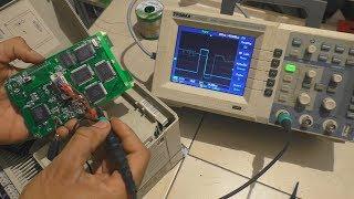 Réparation d'une console de programmation de variateur de fréquence ► problème d'affichage LCD