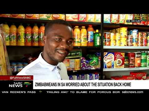 Zimbabweans in SA worried about situation back home