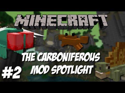 Minecraft: The Carboniferous Mod Preview Part 2! New Dimension, Mobs & MORE!