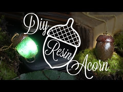 DIY Resin ACORN - look like real