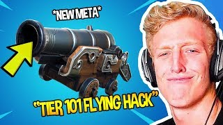 Tf∪ℯ SHOWS *NEW* FLYING META WITH CANNON *HACK* TIER 101 🕶 | Fortnite Funny Moments