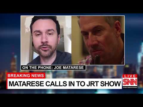 """Joe Matarese"" on the Josh Robert Thompson Show -   SNN special report!"