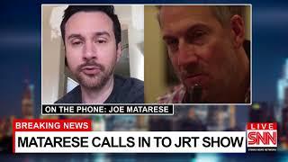 """Joe Matarese"" on the Josh Robert Thompson Show -   SNN special report!"