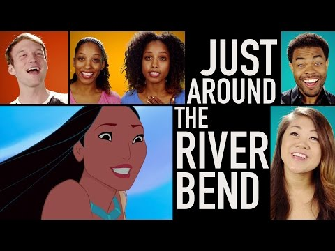 Pocahontas Lyric Video | Just Around the Riverbend