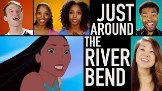 Pocahontas Lyric Video | Just Around the Riverbend