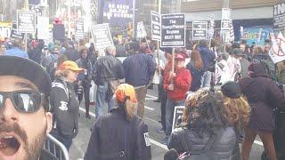 Refuse Fascism March NYC