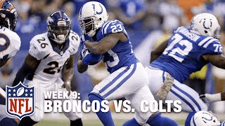 Frank Gore Plows Ahead for a Red Zone TD!   Broncos vs. Colts   NFL