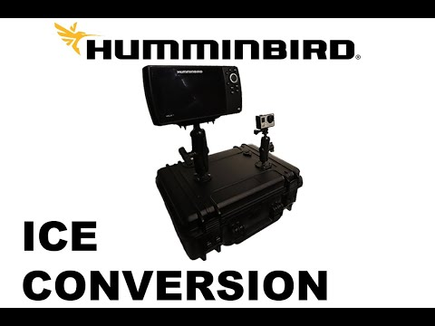 The BEST Hummingbird Fish Finder Ice Conversion (Step By Step How-To)