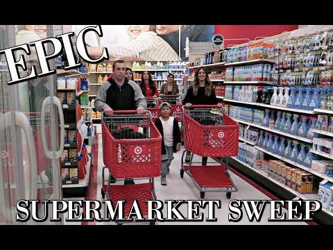 EPIC SUPERMARKET SWEEP CHALLENGE: A&W VIBES VLOGMAS 2017
