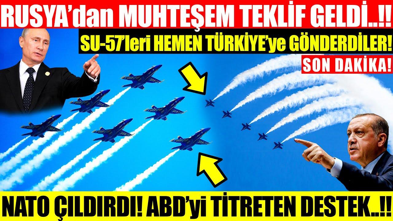 Download RUSYA'dan MUHTEŞEM TEKLİF! SU-57'leri HEMEN TÜRKİYE'ye GÖNDERDİ! NATO ÇILDIRDI! ABD ŞOKTA!