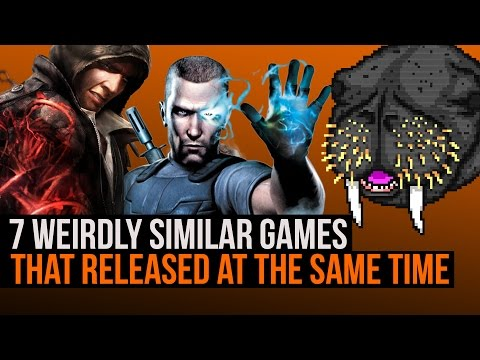 7 weirdly similar games that released at the same time
