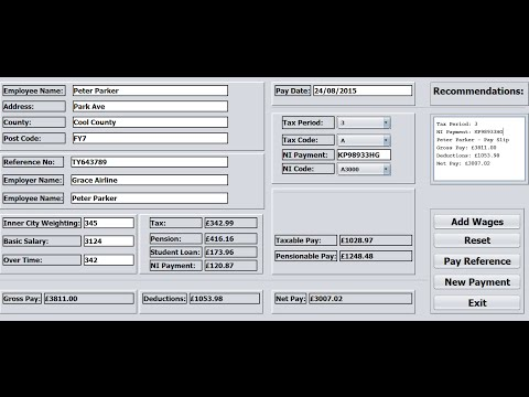 How to Create Payroll System in Java NetBeans - Full Tutorial
