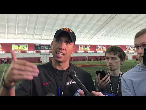 Dave Sprau - VIDEO: ISU Football Coach Matt Campbell Talks Spring Practice