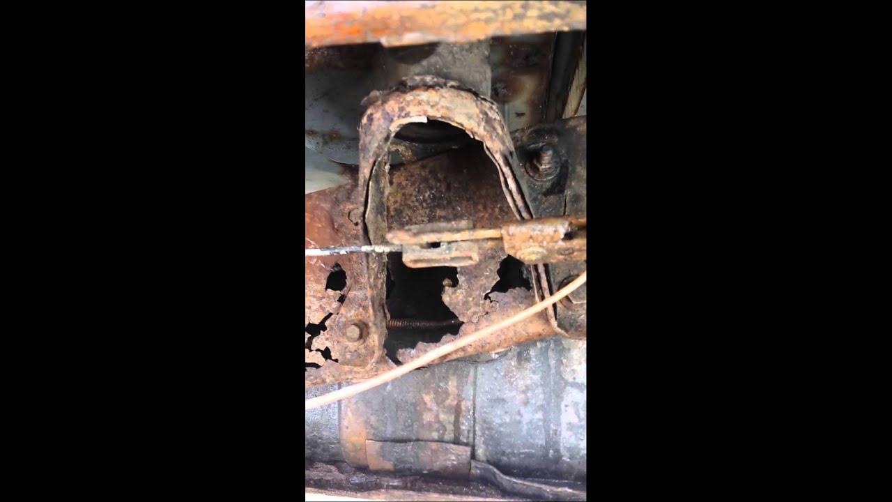 91 ford ranger frame repair 1st video