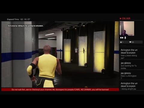 WWE 2K18- My Career: The Journey of Broken Twitch