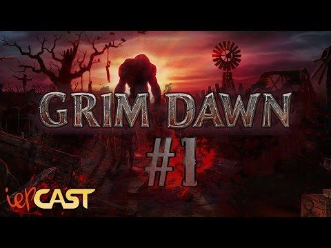 GRIM DAWN - Gameplay Español - #1 Los Zombies del Capitán Bourbon