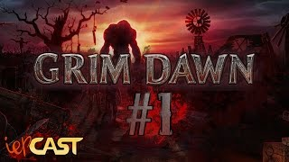 GRIM DAWN - Gameplay Español - #1 Los Zombies del Capitán Bourbon