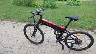 From Gearbest Samebike LO26 Moped Electric Bike Smart Folding E-bike