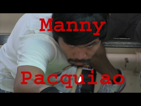 Manny Pacquiao Plays Billiards In General Santos PACMAN CUP 2014