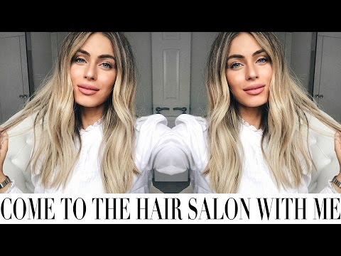 COME TO THE BEAUTY SALON WITH ME | Lydia Elise Millen
