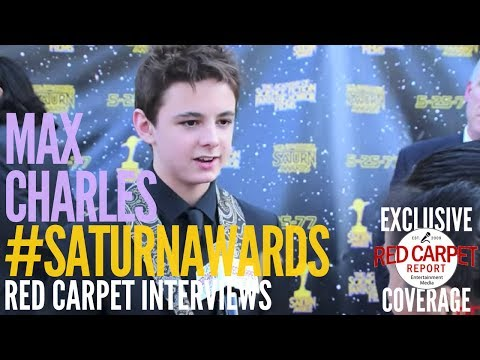 Max Charles #TheStrainFX interviewed at the 43rd Annual Saturn Awards #SaturnAwards