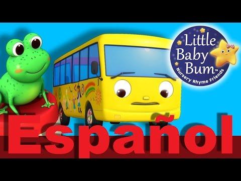 Diez autobuses   Parte 2   Canciones infantiles   LittleBabyBum