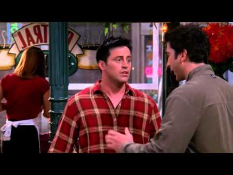 What I love most about this hilarious scene from FRIENDS is that it's perfectly compact. Someone who has no understanding of the show or characters could watch this and still enjoy it. Great writing and memorable performances