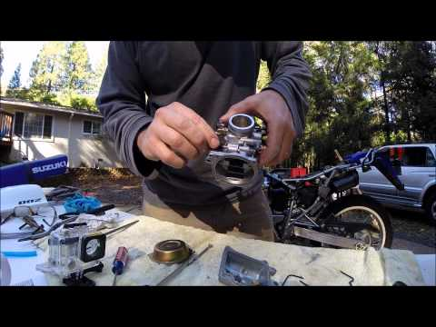 2006 Suzuki DR200SE Carb Cleaning for Beginners