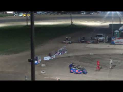 Mini Wedge 10-14 yrs Feature Race at Crystal Motor Speedway, Michigan on 09-15-2018!