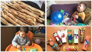 Влог/9/ День рождения сына/ Нам 3 года/ Меню и рецепт закуски от Alex Sandrina