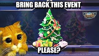 CHRISTMAS RAFFLE EVENT - WILL IT BE THE SAME LIKE LAST YEAR IN MOBILE LEGENDS?