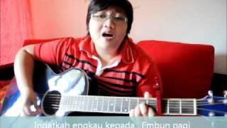 Sebelum Cahaya- guitar cover by zaliefah