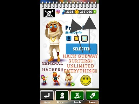 General Hacker- [ HACK SUBWAY SURF. NON-ROOT USING LUCKY PATCHER]
