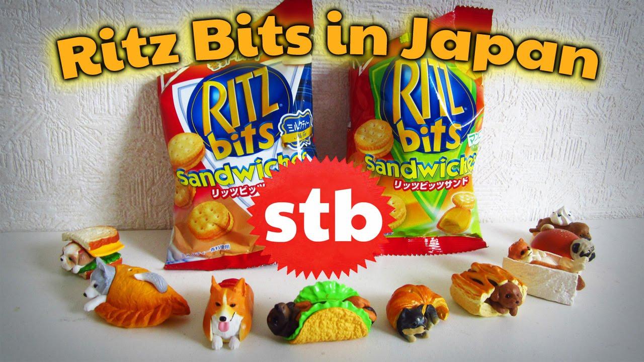 Strange Snacks In Japan Ritz Bits  E   Solotravelblog
