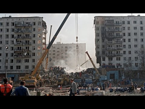 13.09.1999 Взрыв жилого дома в Москве на улице Каширское шоссе, теракты в России