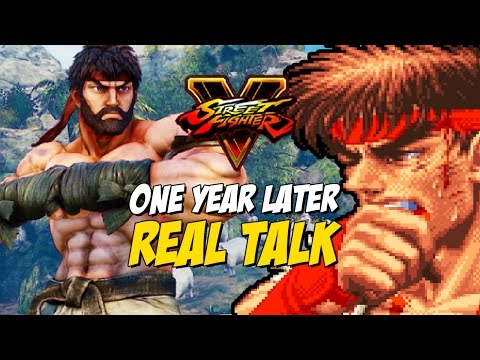 REAL TALK: Where It Failed & Where It Succeeds - Street Fighter 5 (One Year Later)