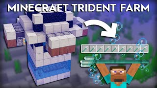 Minecraft Easy Drowned/Trident Farm - 1.16/1.15
