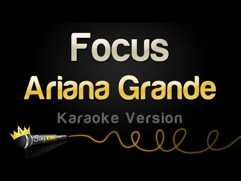 Ariana Grande  Focus Karaoke Version