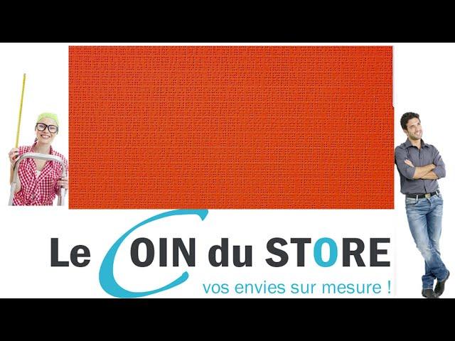 Toile PVC pour pergola et store Soltis Perform 92 Carotte potimarron orange 2172 Serge Ferrari