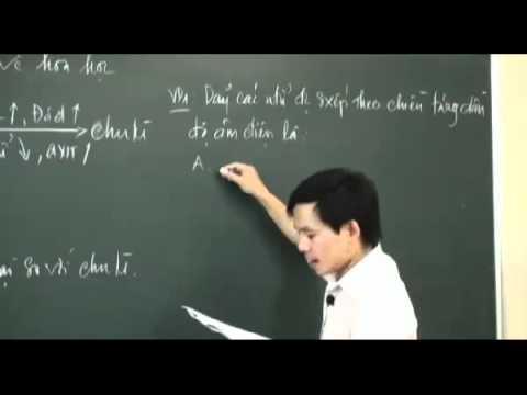 YouTube   3  Bảng tuần hoàn các nguyên   Đại cương hóa học   Part 2