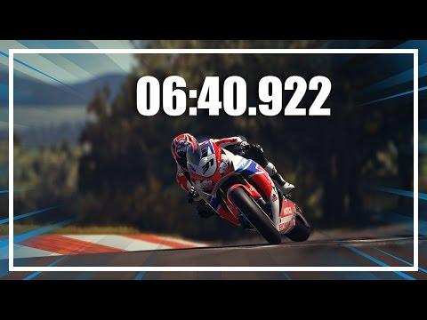 Ride 2 PS4 Nürburgring Nordschleife lap time: 06:40.922 Honda CBR 1000RR