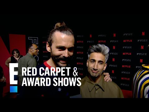 How Jonathan Van Ness & Justin Theroux Became Friends | E! Live from the Red Carpet