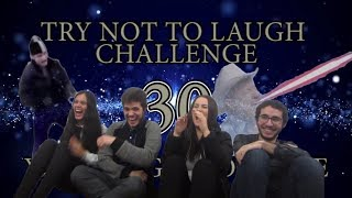 Try Not To Laugh CHALLENGE 30 - by AdikTheOne REACTING!!!