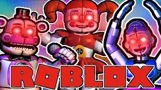 REACTING TO ALL THE VOICES OF FNAF Roblox Animatronic World