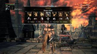 Bloodborne gestures without the menu