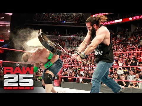 Elias disrespects John Cena: Raw 25, Jan. 22, 2018